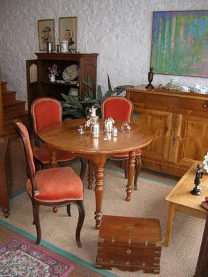 Fabienne blondiau antiquaire en bretagne invit e antiquaire la une - La boutique du meuble peint ...